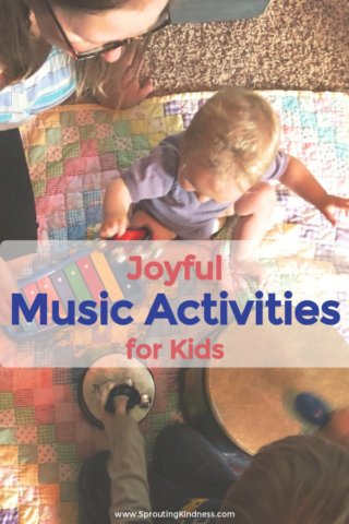a family enjoys music activities for kids pin this post